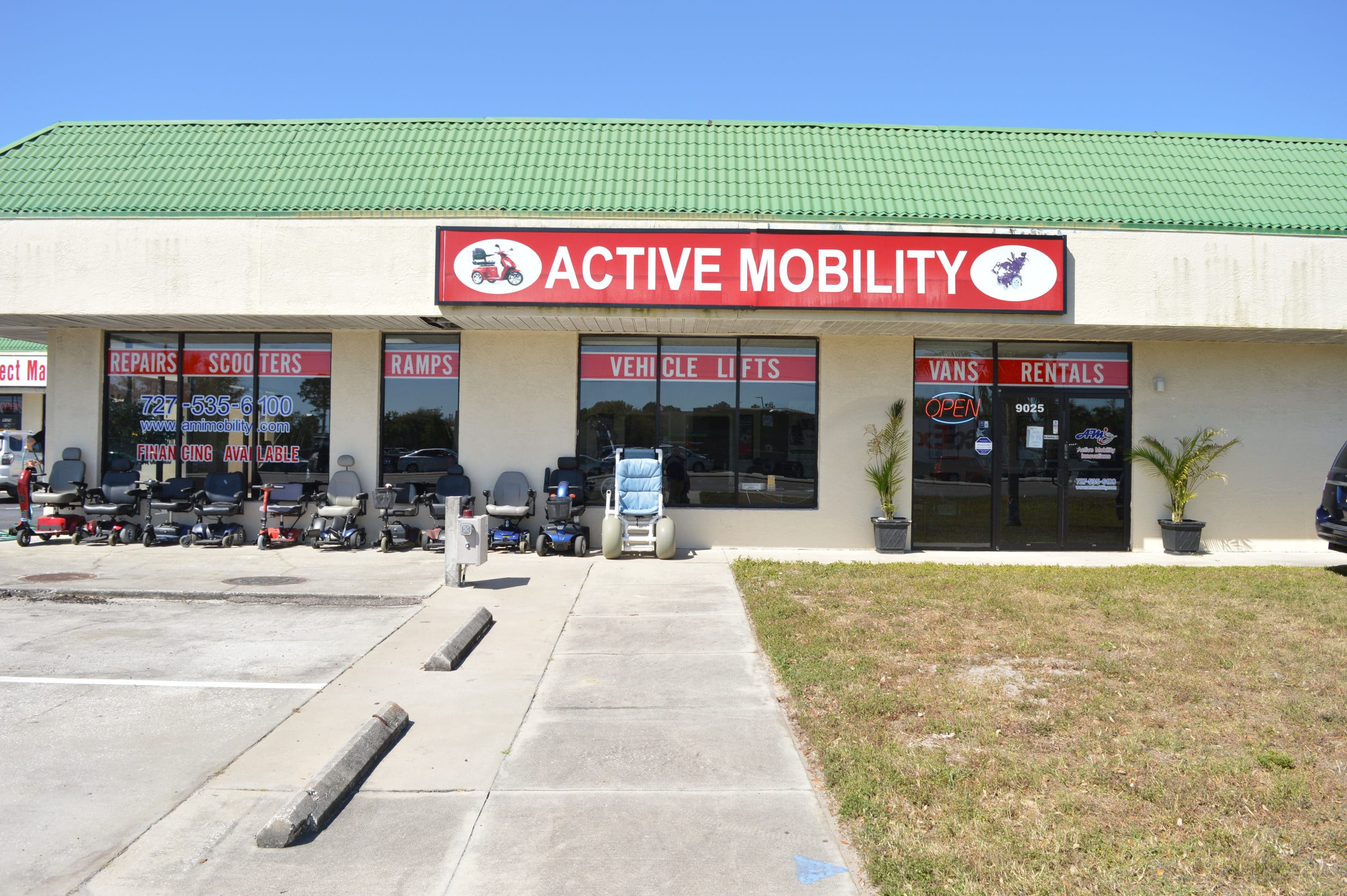 Active Mobility Innovations Store Front